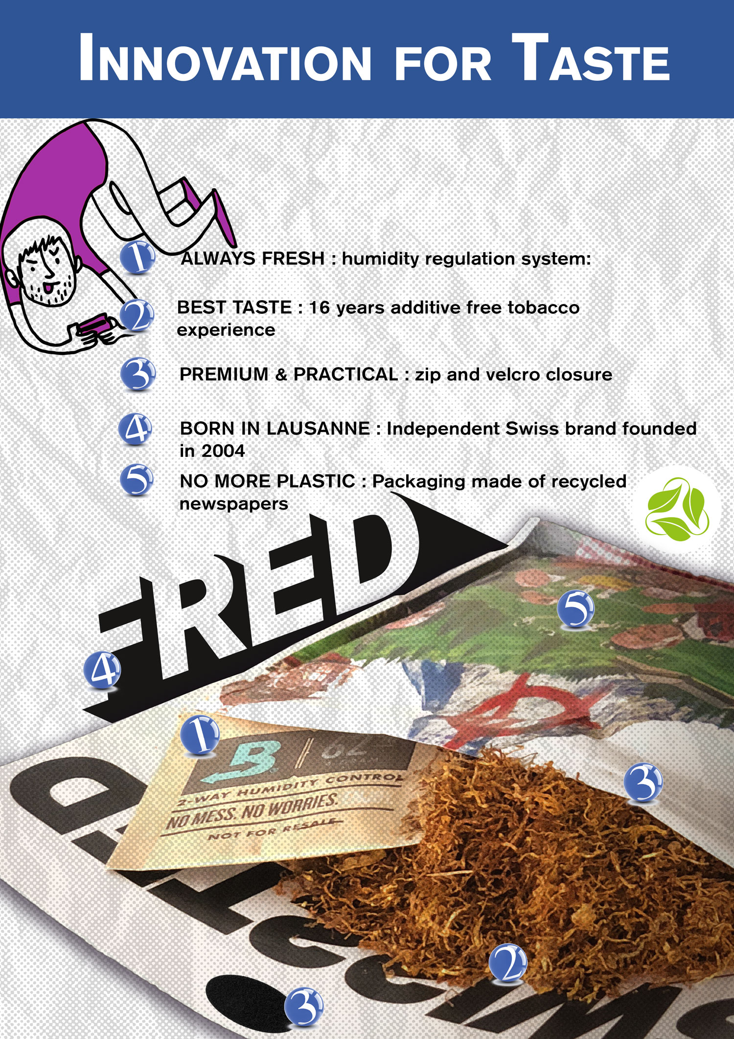 Fred-tobacco-specificities
